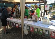 The Raffle Prize table