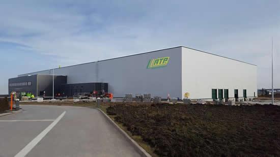 RTP Company's new plant in Wroclaw, Poland