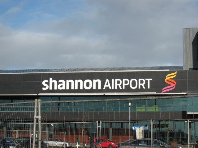 We had to drop by Shannon Airport on our way to Cashel