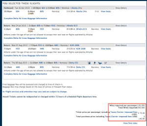 There's a Burn Notice on my Points: Delta Skymiles Part 2