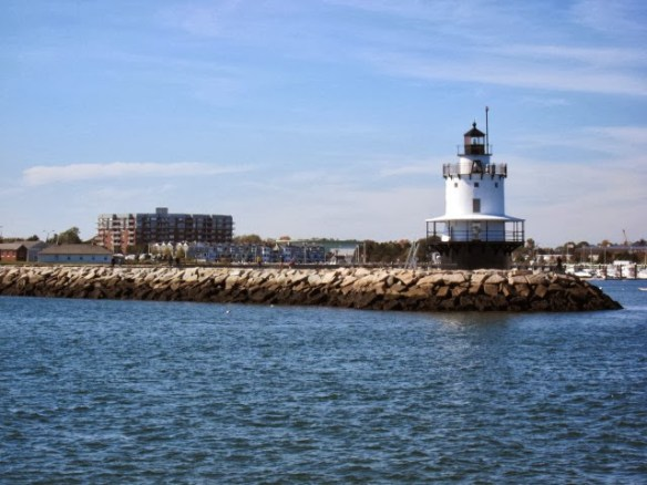 One of many lighthouses on Casco Bay