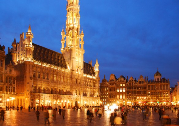 Even though you might not want to visit Brussels, it's your best bet to get to Europe this summer