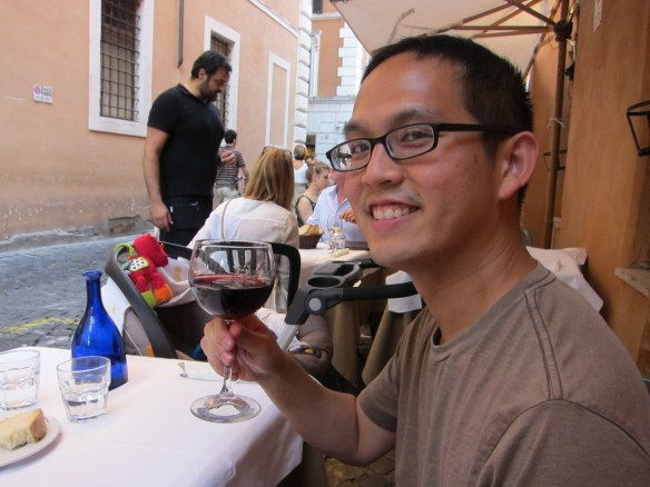 Just make sure you take your time and enjoy yourself (Rome)