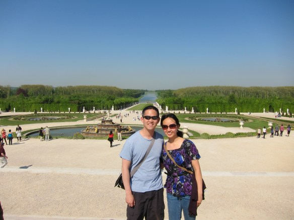 Nothing like Paris in the spring (Palace of Versailles, Paris)