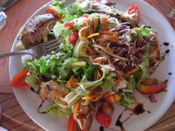 When you get to the main island there is good food to be had for a slightly cheaper price