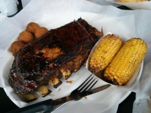 Sauceman's Charlotte Ribs Fried Corn