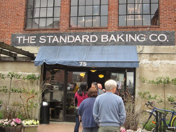 Standard Baking Company is the place to be - get there early to avoid lines