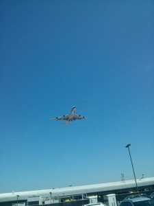 The only thing I like about LAX is the plane watching