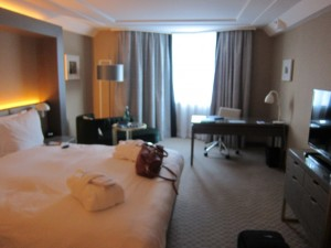 The room was pretty spacious