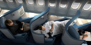 Delta's business class seats are actually pretty comfortable - it's booking them that's the problem