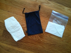 Why not make the amenity kit useful? Diapers and wipes go in...