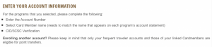 You can only transfer points to your own and authorized users' FF accounts now
