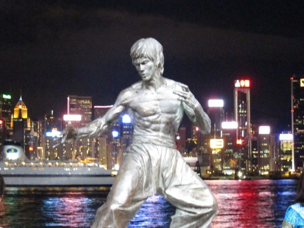 Bruce Lee at the Avenue of the Stars (2010)
