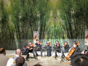 Taipei Symphony octet in action