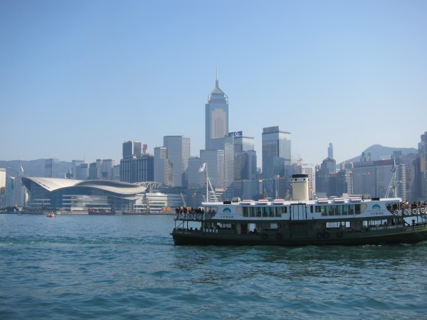 The Star Ferry is iconic Hong Kong