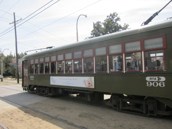 The streetcar is a tourist attraction in and of itself