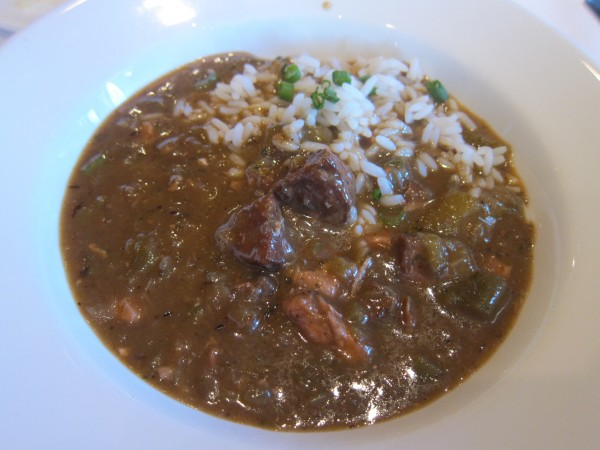 Can't go wrong with gumbo in New Orleans
