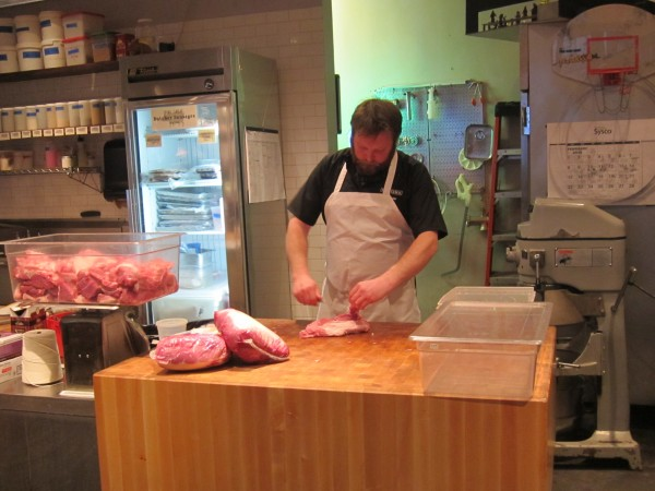 The butcher at Butcher