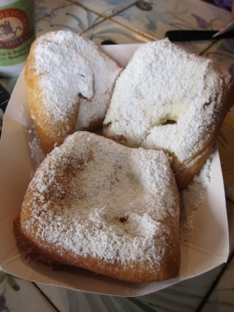 The beignets there are different stylistically from Cafe du Monde, but also amazing