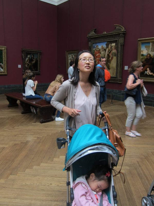 Taking in the National Gallery