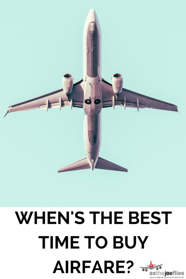 Wondering when is the best time to buy airfare? Let me walk you through the factors to consider so you can buy flights at the cheapest time!