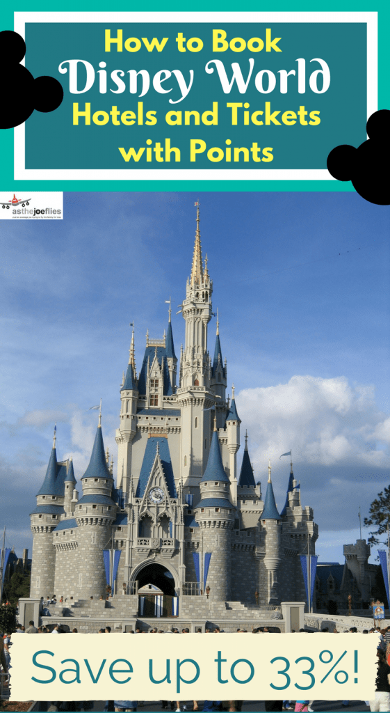 Did you know you can use points for Disney tickets and hotels? You can save lots of money by paying for a Disney vacation with points not cash, here's how.