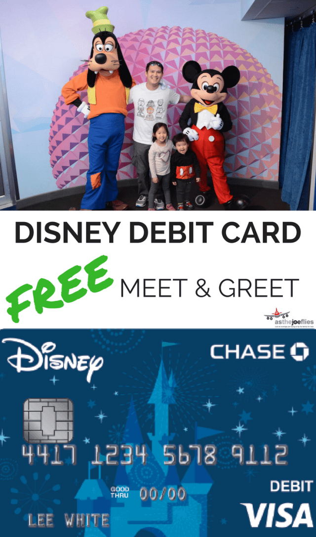 Did you know that the Chase Disney debit card is free for Chase checking account holders? Find out how to get a Disney debit card and five minutes and how to use it for a FREE character meet and greet.