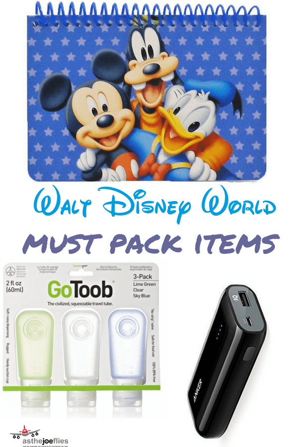 Wondering what to pack for Disney World? Check out this list of 6 must pack items for Disney World with tips on what to buy & how to make your trip awesome!