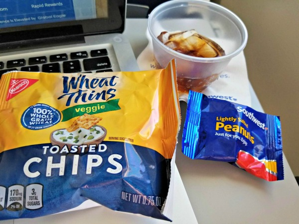 Southwest family friendly policies - snacks and drinks