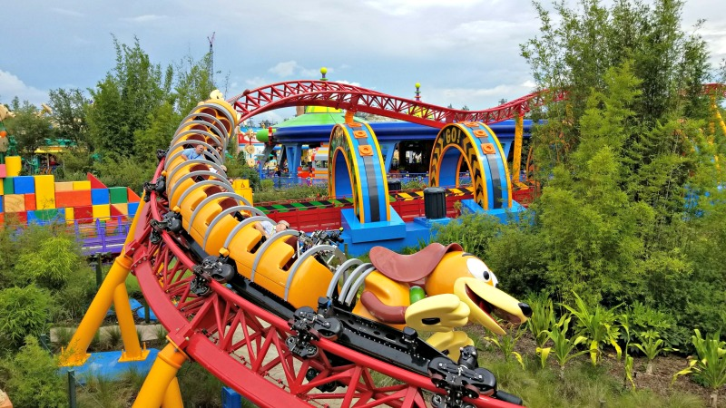 Toy Story Land - Slinky Dog Dash