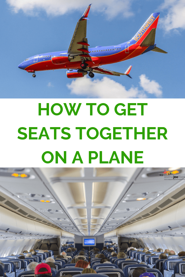Tired of the stress of trying to find seats together with your group? Tips and tricks for ensuring you can get seats together on your next flight. #familytravel #airtravel