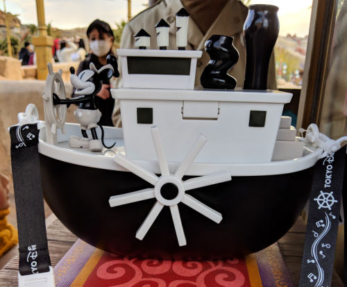 DisneySea Steamboat Willie bucket