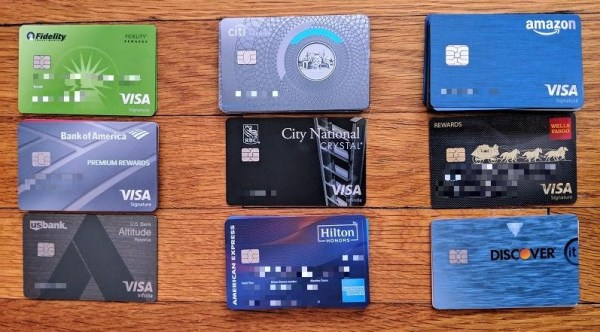 Organizing your credit cards