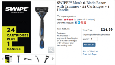 2-5-15 Hack my shave with Swipe Razor blades, Liam Neeson, A couple deals