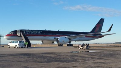 Inside the operations and choreography of the Trump 757