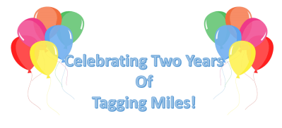 Thank you for 2 Years of Tagging Miles!