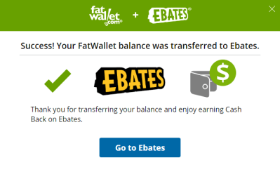 Transfer FatWallet Cashback to Ebates – Get $10 more!