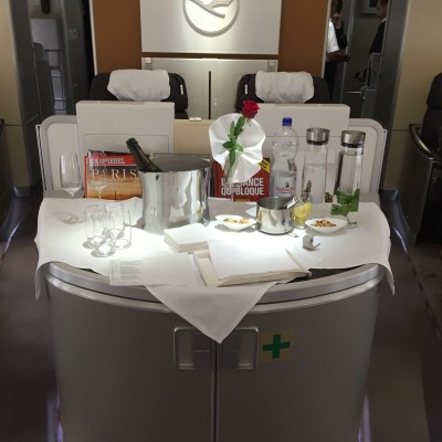 Flying the Cycle – Three Different First Class Experiences