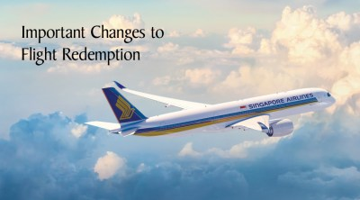 Singapore Airlines KrisFlyer Devaluation