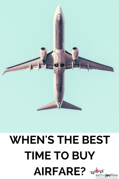 When's the best time to buy airfare?