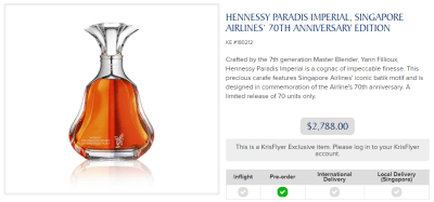 Singapore 70th Anniversary Hennessy Paradis Imperial, Bad PaxEx, Qatar News