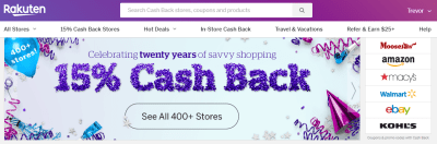 Ebates Birthday Live – But with a twist!