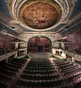 O Teatro Orpheum, Massachusetts, EUA.
