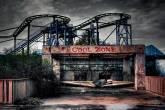 Parque Abandonado Six Flags - New Orleans, EUA.