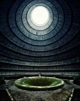 Estação de energia abandonada, Bélgica .