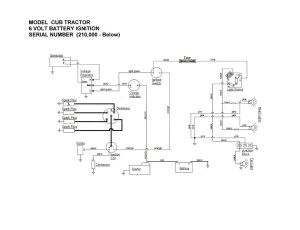 6 volt positive ground battery ignition schematic