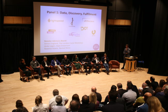 Panel discussion on data, discovery and fulfilment, at our High Street Conference