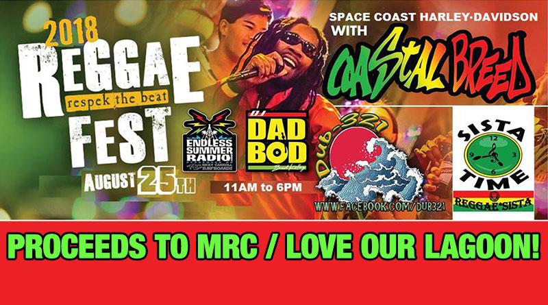 Reggae Fest 2018 at Space Coast Harley-Davidson Sat , Aug  25