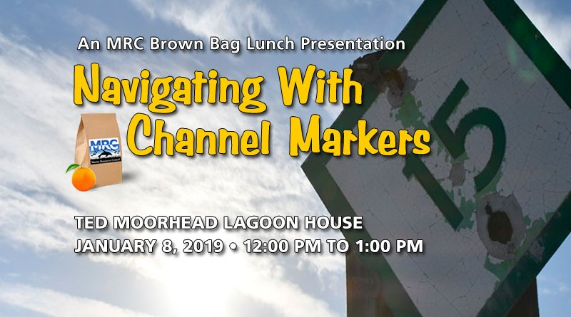 Jan. 8 Brown Bag Lunch: Navigation with Channel Markers