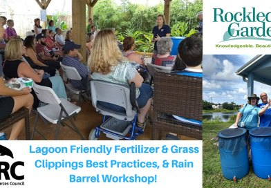 Lagoon-Friendly Lawn Care and Rain Barrel Workshop Feb. 10